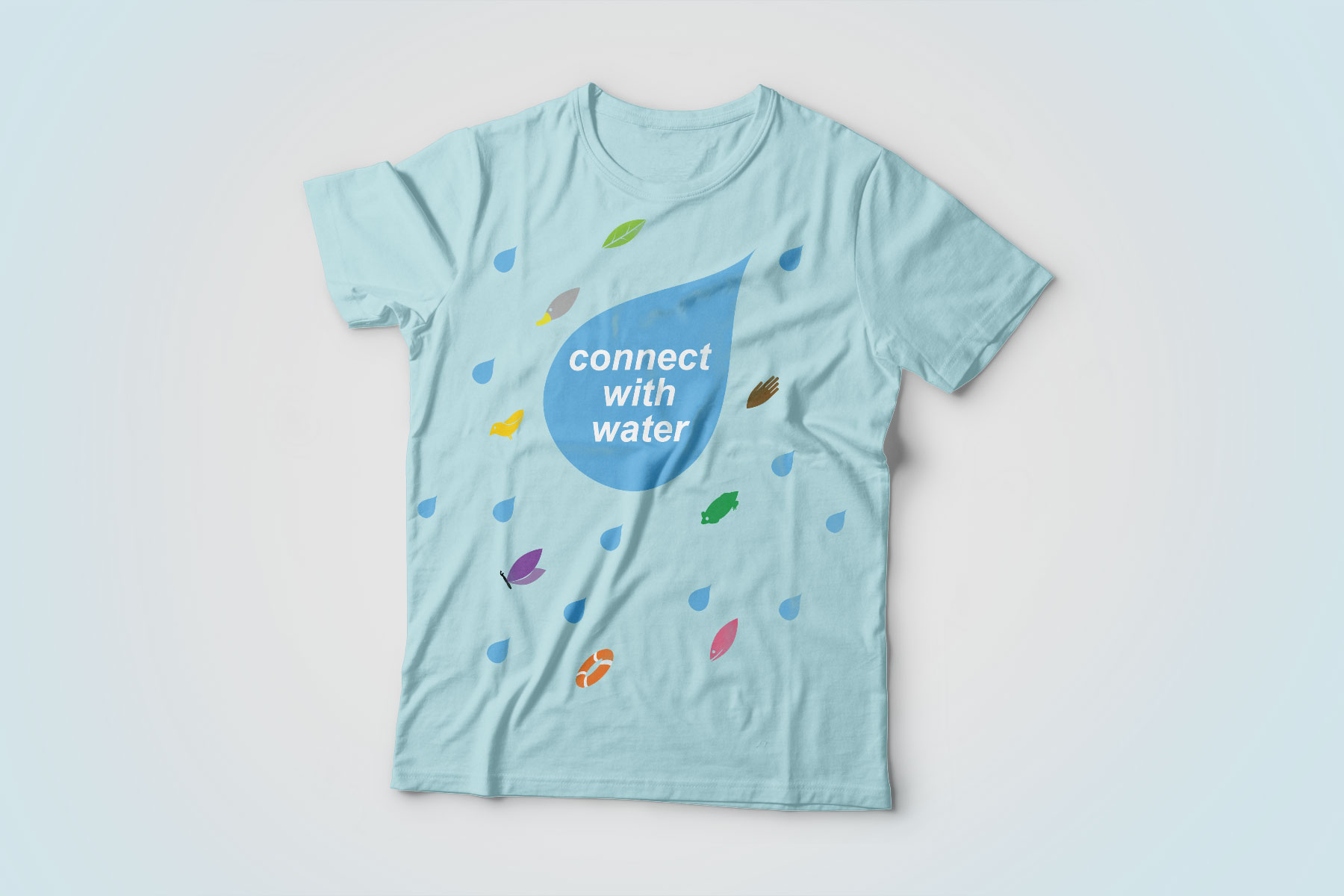 Connect with Water T-Shirt